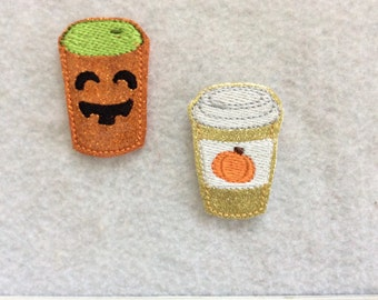 Pumpkin Latte, Two to Choose, Always Precut