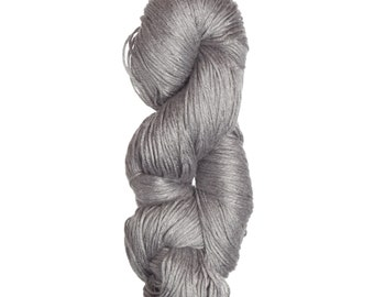 Milk-Bamboo Yarn - DK/Sock Weight in Silver