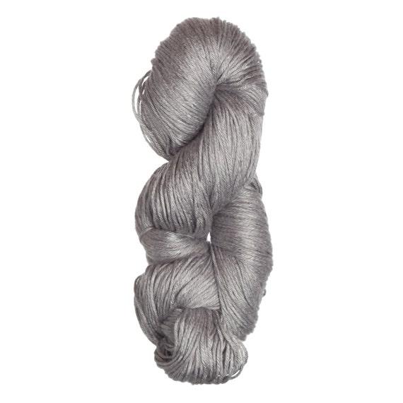 Milk-Bamboo Yarn - DK/Sock Weight in Silver