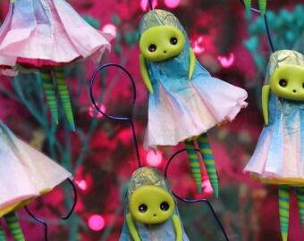 Miniature Figurine | OOAK | Creepy Cute, Little Figurine, Tiny Doll, Whimsical Gift, Unique Present, Woodland Creature, Little Monsters