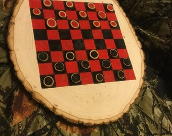 Log Checker Board