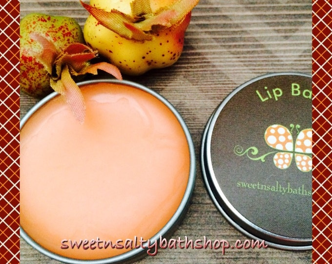 Pumpkin Spice Cake Flavored Lip Balm-More Fall Flavors to Choose From/Marshmallow/English Toffee/Eff Nogg/Cinnamon Vanilla