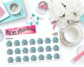 "MCM MANTRAS: ""You Don't Have to Hold Up the World Today"" Paper Planner Stickers!"