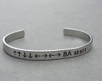 Gamer Gift / Geek Gift / Nerd Gift / Konomi Contra Code / Nintendo / Gift Idea For Gamer / Gift for Him / Gift For Her / Gift Under 20