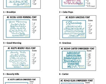 Monogramming Font Styles (1)