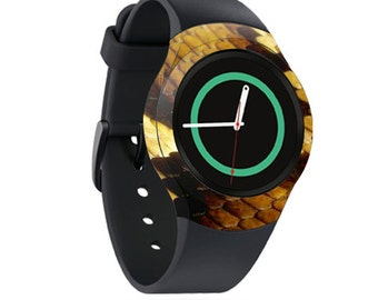 Skin Decal Wrap for Samsung Gear S2, S2 3G, Live, Neo S Smart Watch, Galaxy Gear Fit cover sticker Python