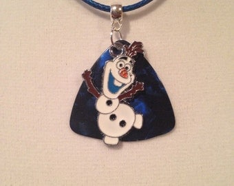 Guitar Pick Necklace Olaf