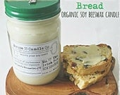 Irish Soda Bread soy wax beeswax candle scent No. 17 The Irish Pub | infused essential oils, organic small batch preserve jar, st. Patrick's