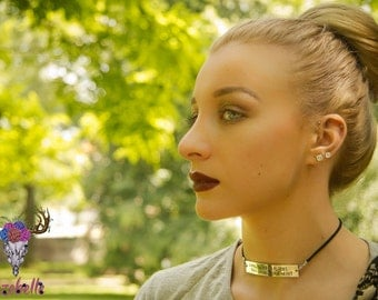 Poetry Jewelry - Literary Jewlery - Gifts for Poets - Choker