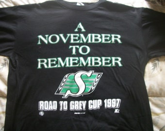 SASKATCHEWAN ROUGHRIDERS Grey Cup 1997
