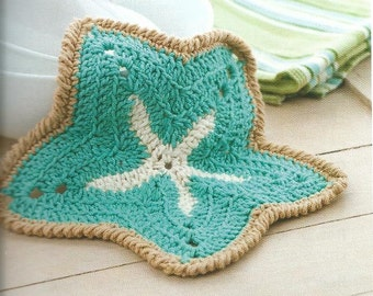 STARFISH DISHCLOTH