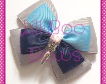 Handmade Judy Hopps Zootopia Zootropolis Inspired Charm Hair Bow