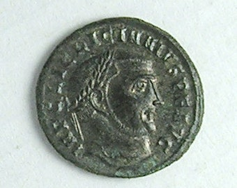 LICINIUS I; Ancient Roman Bronze Follis; Antioch Mint