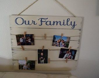 My Family Picture board