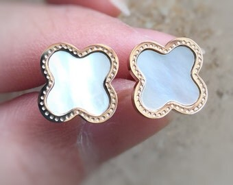 Free shipping Clover earring