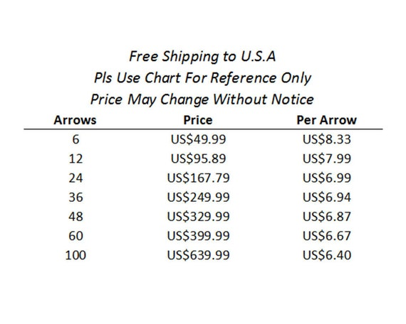price for foam tipped arrow