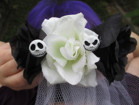Nightmare Before Christmas Wedding Veil Jack Skellington