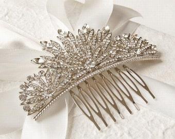 Diamante Art Deco Vintage Luxury Hair Comb - Sparkling - Highest Quality - Wedding Accessories