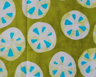 "1 Yard - A Stitch in Color by Moda Sanddollar Print Cotton Fabric - 44"" wide"
