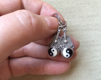 Yin Yang Earrings -- 724