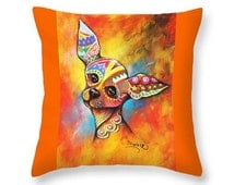 Unique Dog Pillow Related Items Etsy