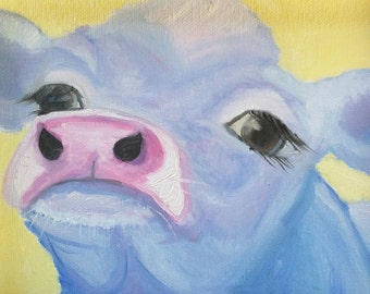 Blue Jersey Cow