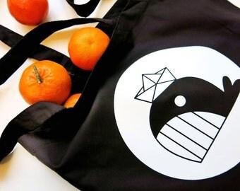 Black Whale Bag
