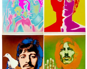 The Beatles Poster - Ships FREE