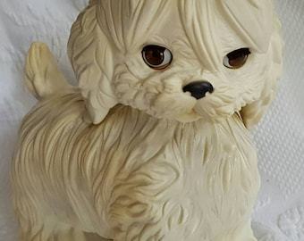 Vintage Edward Mobley RUBBER TOY squeaky dog