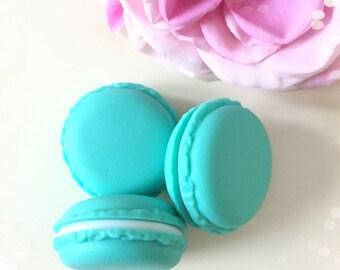 Mini Macaron Storage Pot...Teal