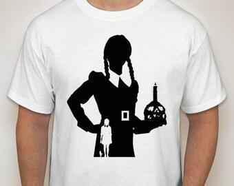 Wednesday Addams Silhouette T-Shirt