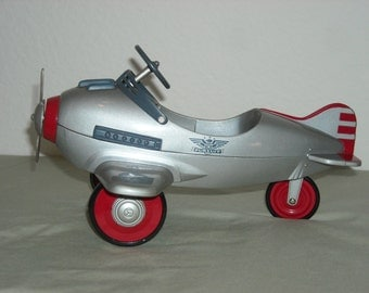 Hallmark Kiddie Car Classics Murray Airplane With Real Working Wheels and Turning Propeller/Limited Edition/Mint in Box/Hard to Find!!