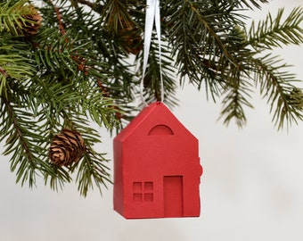 Tiny House Ornament Gift Box Kit, Set of 3