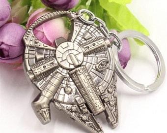 SALE! Star Wars Millennium Falcon Metal Keychain