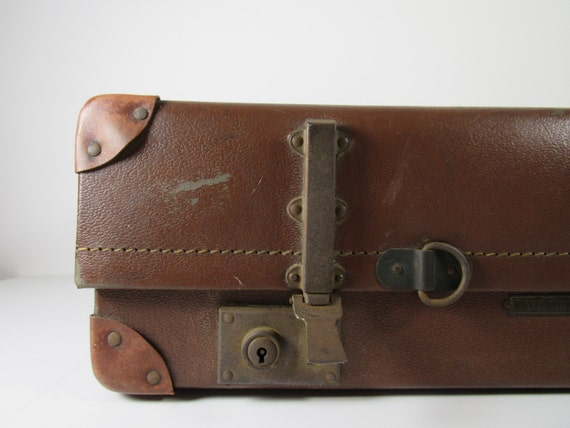 SALE 30% OFF Vintage Revelation Suitcase
