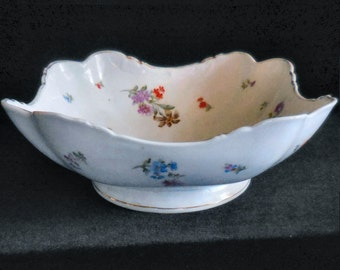 Porcelain Square Serving Bowl Made in Germany