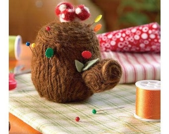 Forest Floor Pincushion Sewing Pattern Download 803043