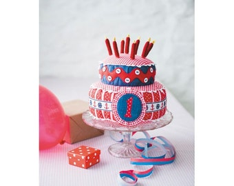 Birthday Cakes Sewing Pattern Download 803440