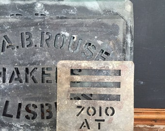 Vintage Zinc Stencil (7010 AT)