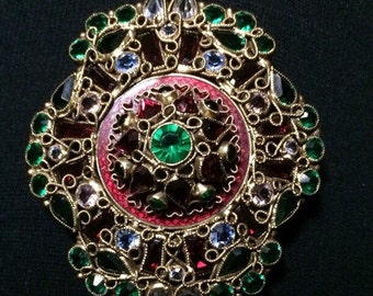 Robert Fashion Craft Brooch / Pendant