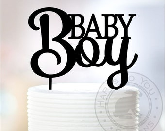 Baby Boy Cake Topper - Baby Shower Cake Topper - Its a Boy - 66-107