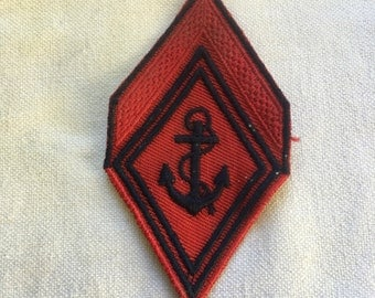 French Navy sleeve patch