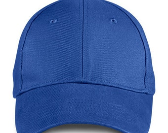 Anvil Blank Brushed Twill Hat, All Colors, Adult