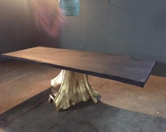 Karat Live Edge Table | 8ft Black