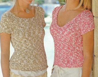 Instant Download - PDF- Vintage Easy Top Knitting Pattern (K38)