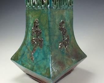 RAKU Vase