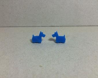 SALE -Laser cut acrylic earrings.