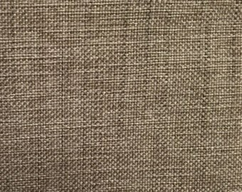 Light Grey Beige Woven - Upholstery Fabric by the Yard