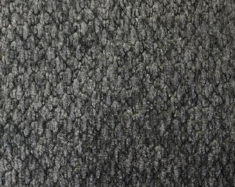 Grey Chenille - Upholstery Fabric by the Yard
