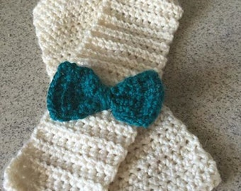 Toddler Bow Scarf